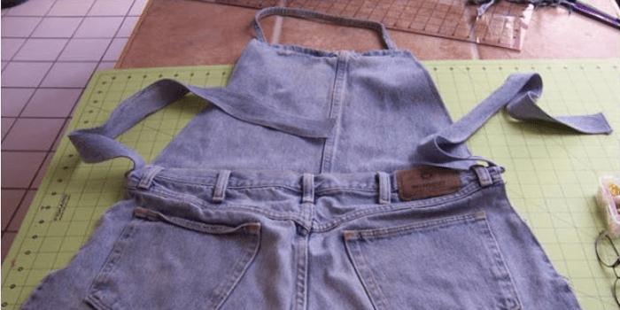 Blue Jeans Garden Apron