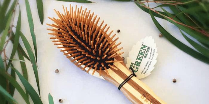Bamboo hair brush