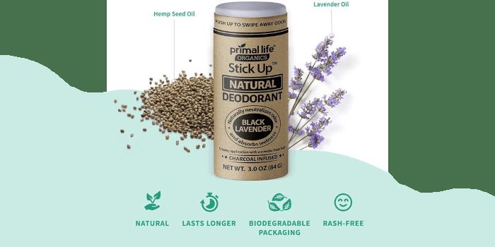 Stick Up Natural Vegan Deodorant