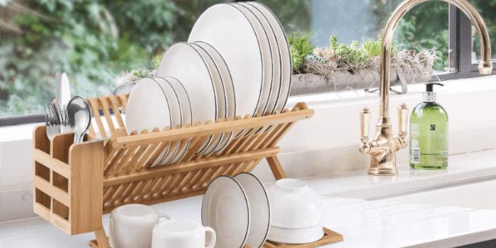 Bamboo Dish Rack