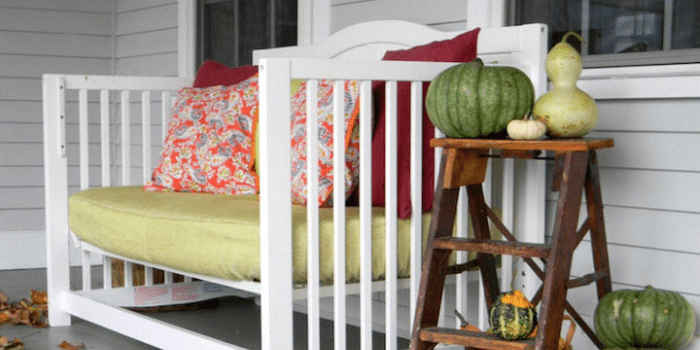 Build a beautiful outdoor bench