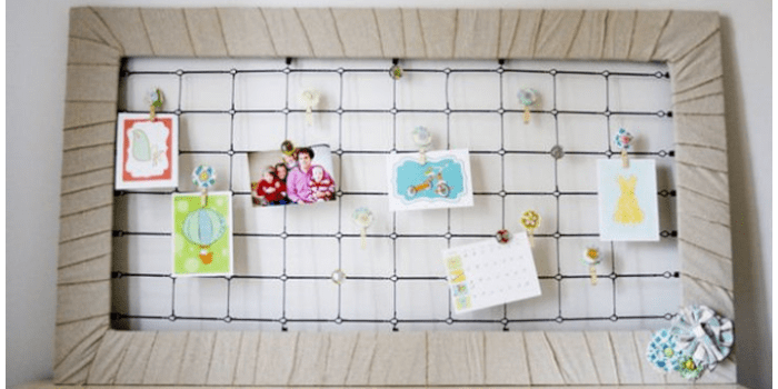 Make a crib memo board