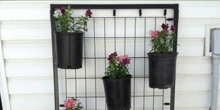 Make a flower pot stand
