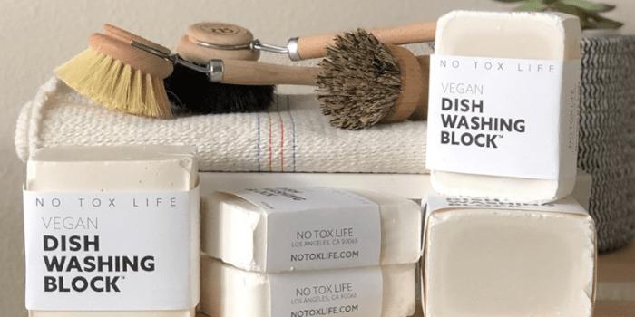 Non-Toxic Vegan Dish Soap Block