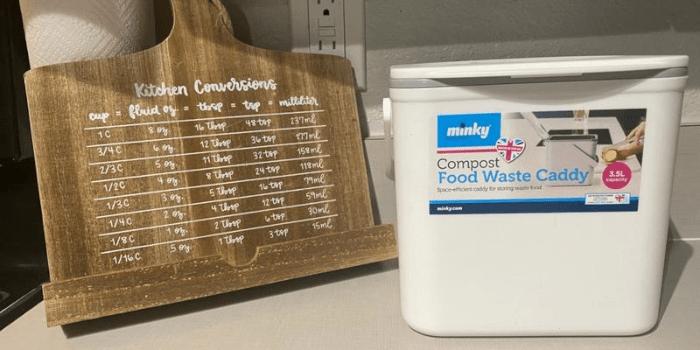 #5 Minky Homecare Food Compost Caddy