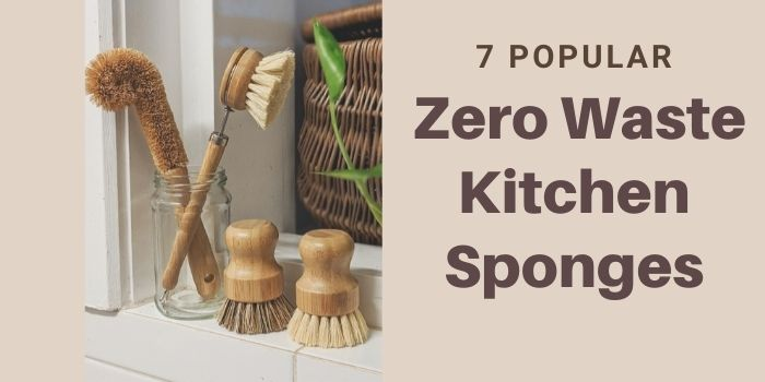 7 Popular Zero Waste Kitchen Sponges