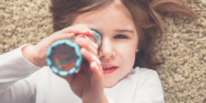 DIY Kaleidoscope craft for kids