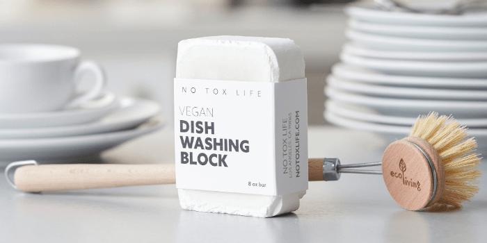 No-Tox Life Dishwashing Block Soap