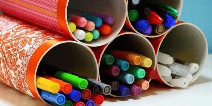 Pringle tubes pencil holders