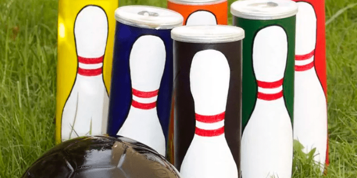 Pringles bowling set