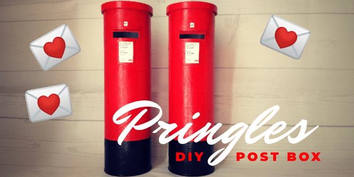Pringles tube postbox