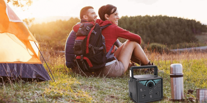 The-Best Camping Solar Powered Generator