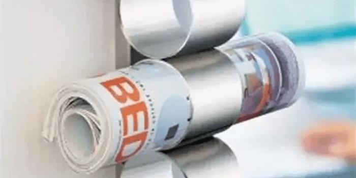 Newspaper storage idea
