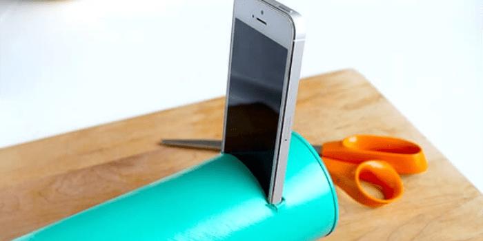 Own smart phone speaker