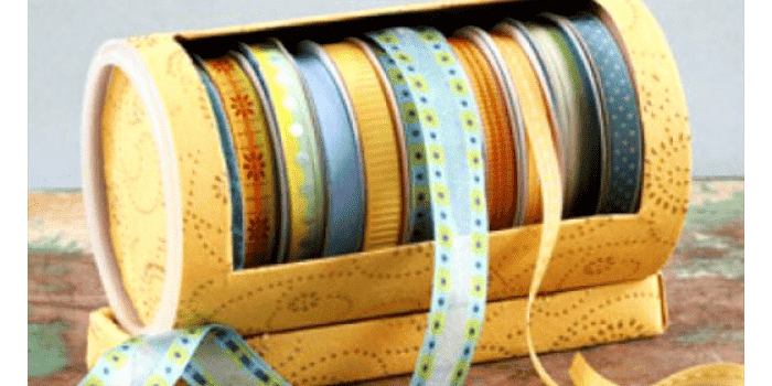 use it for ribbon storage