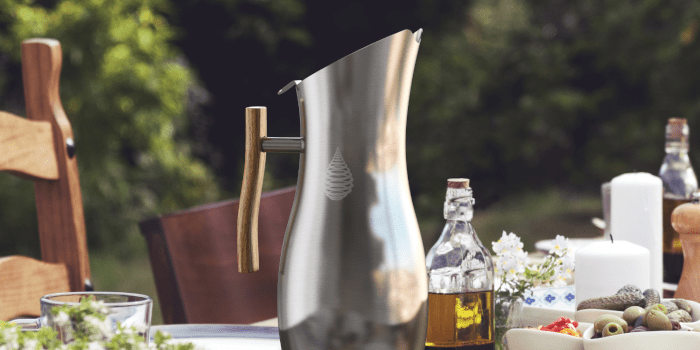 #5 pH Vitality Stainless Steel Alkaline Water Pitcher