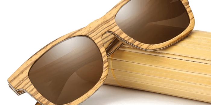 EZREAL Handmade Natural Polarized Wooden Sunglasses