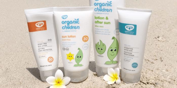 Green People Organic Sun Lotion