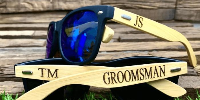 Groomsmen Engraved Sunglasses