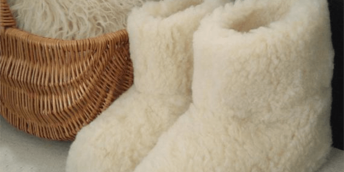 Heller Vertrieb 100% Pure Sheep WoolSlippers