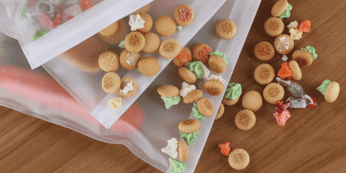 Plastic Free Lunch Bags Food Storage