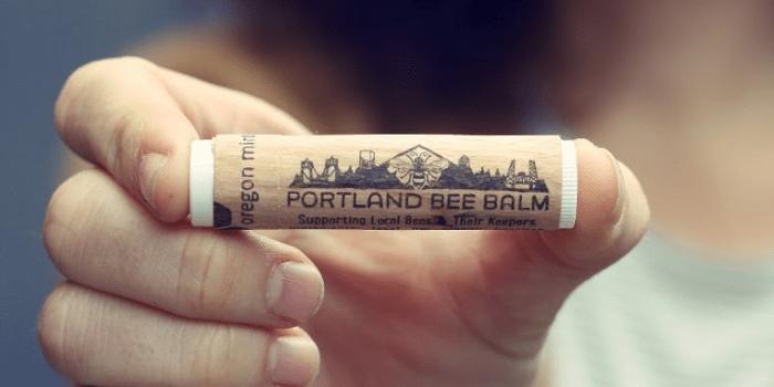 Portland Bee Balm Natural Handmade Beeswax Based Lip Balm