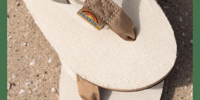 Rainbow Sandals Women's Single Layer Hemp
