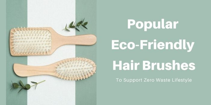 Popular Eco-Friendly Hair Brushes To Support Zero Waste Lifestyle