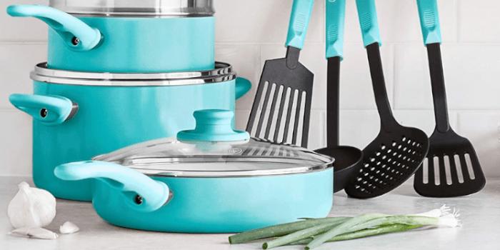 GreenLife Soft Grip Healthy Set - Best Ceramic Cookware