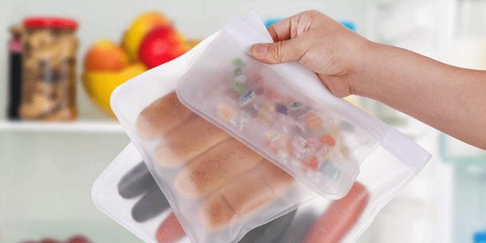 SPLF Ziploc Bags - Best Dishwasher Safe Reusable Storage Bags