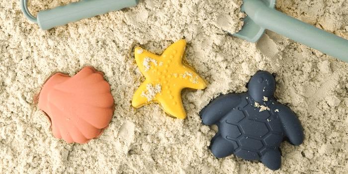 BraveJusticeKidsCo Silicone Beach Toys
