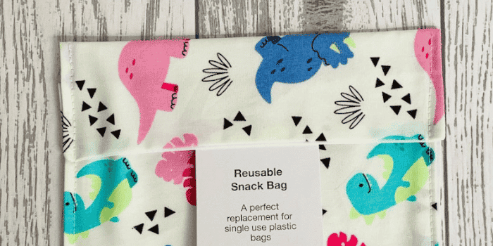 MummyMarvellousMakes Snack Bags - Best Washable Lunch Bags