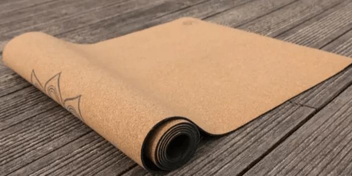 Natural Cork Yoga Mat - Most Eco-friendly & Simplistic Yoga Mat