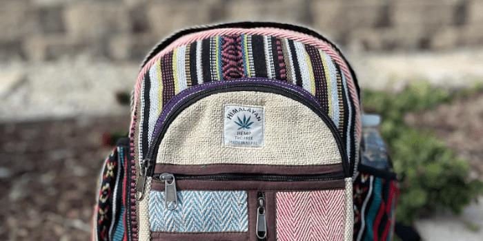 LikeInternationalUSA - Mini Hemp Backpack